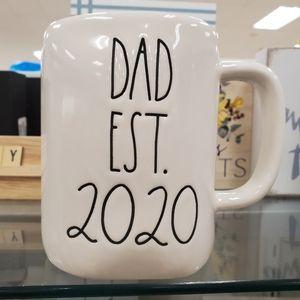 Rae Dunn  DAD EST. 2020 Mug